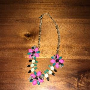 J. Crew multi colored necklace